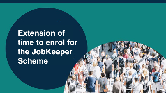 Extension to JobKeeper scheme and Update of Rules